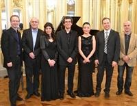 Amb els membres del jurat