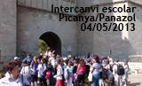 Intercanvi escolar Picanya Panazol 2013. Visita al Centre de València