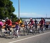 Més de 150 participants al cicle-passeig del diumenge passat