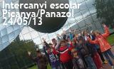 Intercanvi escolar Picanya Panazol 2013. 24_05_2013