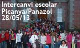 Intercanvi escolar Picanya Panazol 2013. 28_05_2013