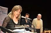 Acte de lliurament del Premi Camí de la Nòria 2013. Jurat.