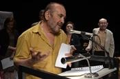 Acte de lliurament del Premi Camí de la Nòria 2013. Luis Auñón.