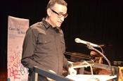 Acte de lliurament del Premi Camí de la Nòria 2013. Xavier Sarrià