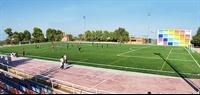 Instal·lació de gespa artificial al camp de futbol del Poliesportiu Municipal 1