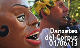 Dansetes del Corpus 2013