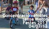 Festes 2013. 2a Concentració de Vehicles sense motor
