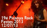 Festes 2013. 19é Picanya Rock