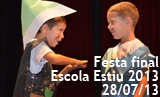 Festa final Escola Estiu 2013