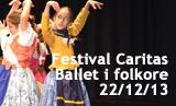 Festival solidari de Caritas - Actuació Ballet i Folklore