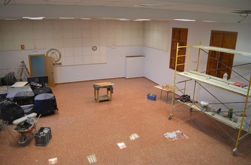Renovaci de la sala d 39 assaig de la casa de la cultura for Renovacio oficina de treball