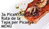 Menú 3a PicaNYAM! Ruta de la tapa per Picanya