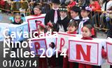 Cavalcada del Ninot Falles 2014