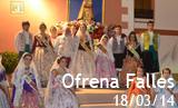 Ofrena Falles 2014