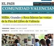 """Els """"best-sellers"""" de la 49a Fira del Llibre de València visitaran Picanya"""
