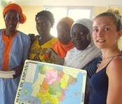 Material educatiu picanyer a Senegal