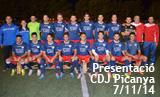 Presentació equips CDJ Picanya temp. 2014-2015