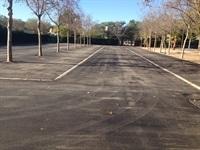 Obres millora aparcament poliesportiu