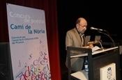 Marc Granell al Premi Camí de la Nòria - Maig literari Picanya 2001 P5253480