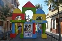 Falla Pl. País Valencià. 1r Premi Engalament de carrers