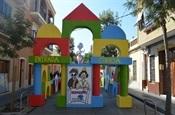 Decoració carrers Pl. País Valencià