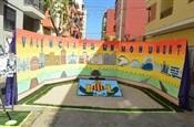 Decoració de carrer Falla Barri del Carme
