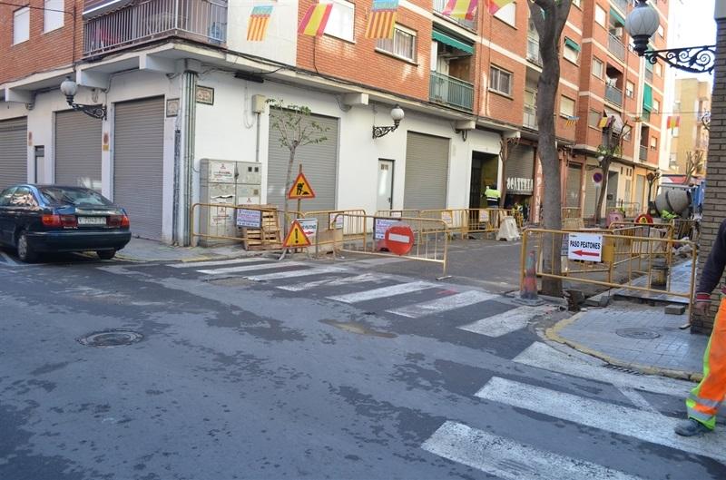 Renovaci voreres carrer sant vicent seguiment del for Renovacio oficina de treball