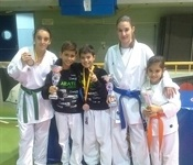 Cinc medalles per al club picanyer al XXIII campionat nacional de karate FEUAM