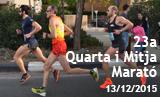 Imatges de la 23a Quarta i Mitja Marató. Galeria 1 de 2.