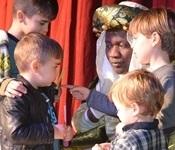 La festa de Reis plenà de màgia el pavelló