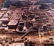 Vista aèria del nucli urbà