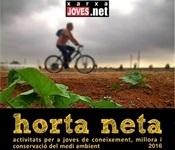 Horta neta 2016 cartell