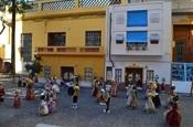 Engalament de carrers. Falla Pl. País Valencià