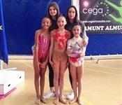 Dues gimnastes picanyeres acudiran al Campionat d'Espanya Base de rítmica