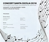 Concert de la Unió Musical en honor a Sta. Cecília