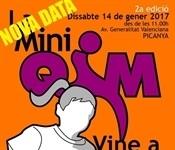 Ajornada la 2a edició de la MiniQiM prevista per a este dissabte