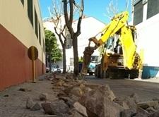 Renovació de vorereres del carrer Guillem de Castro
