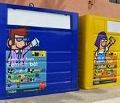 Renovació dels contenidors grocs i blaus
