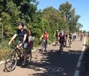 Més de 100 ciclistes a l'edició 2017 del cicle passeig per l'Horta