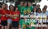 MiniOlimpiada de la 35a Setmana Esportiva - Medalles