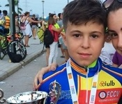 El picanyer Alejandro Ruiz es proclama campió autonòmic d'escoles de ciclisme
