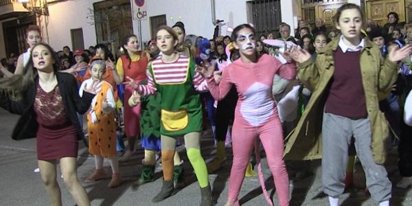 FALLES 2017 - Cavalcada Ninot Infantil - Falla Barri del Carme