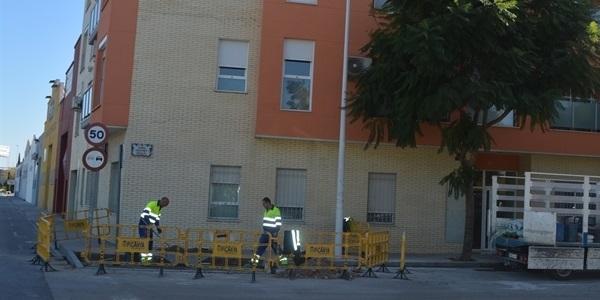 Millores al carril bici i voreres de la travessera de la Diputació