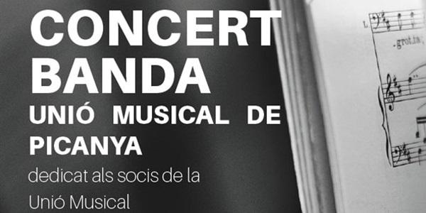 La Unió Musical ofereix el concert d'homenatge als seus socis