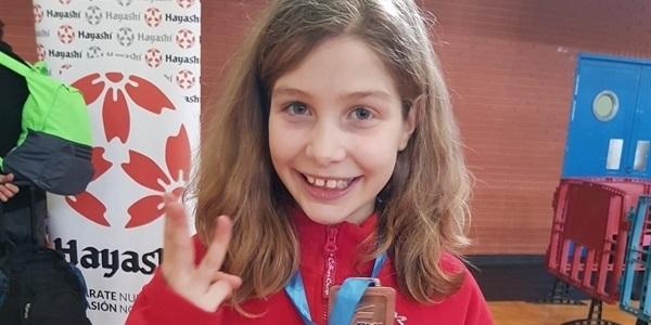 La picanyera Nuria Garrido bronze a la final autonòmica de karate