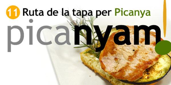 Arriba l'11a edició de PicaNYAM! Ruta de la Tapa per Picanya