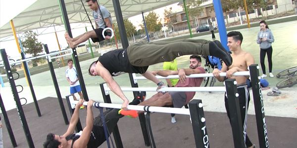 Parc Jove · Calistenia i Street Workout