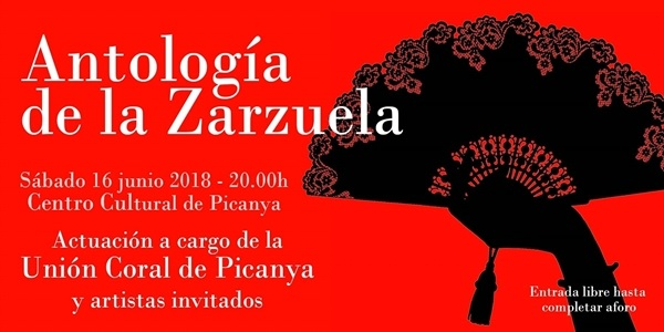 """Antología de la Zarzuela"" a càrrec de la Unió Coral de Picanya"