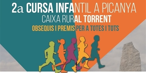 Arriba la 2a edició de la Cursa Infantil Caixa Rural Torrent