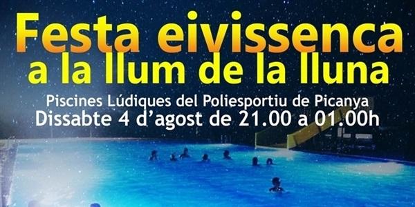 Este dissabte a la nit festa eivissenca a les piscines lúdiques del Poliesportiu